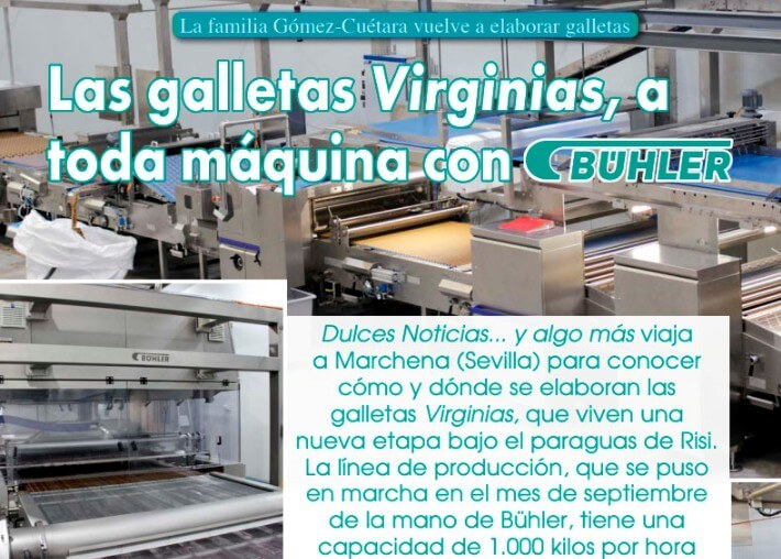 hornos produccion galletas industriales